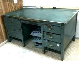 vintage metal office desk. Office Metal Desk Drawer . Vintage E