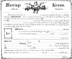 fake marriage certificate online marriage license clipart etc