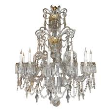one other image of vintage crystal chandelier components