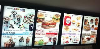 mcdonald s menu 2015 drive thru. Plain Thru McDonalds Menu In Spain And Mcdonald S 2015 Drive Thru E