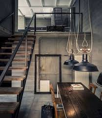 industrial home lighting. 80+ Industrial Home Interior Ideas_18 Lighting