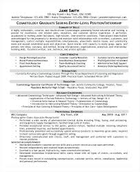 Resume For Cosmetology Instructor Cosmetology Instructor Resume