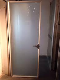 frosted glass bathroom door aluminum glass doors toilet door