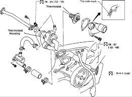 nissan pathfinder i need a detailed cooling system diagram v6 4wd