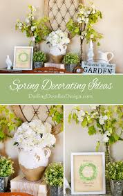 Spring Decorating Spring Decorating Ideas And Free Welcome Spring Printable
