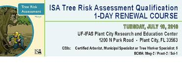 1 Day Isa Tree Risk Assessment Qualification Renewal In The