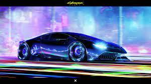 Cyberpunk Lamborghini, HD Games, 4k ...