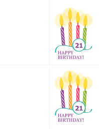 Happy Birthday Avery Milestone Birthday Cards 2 Per Page For Avery 8315