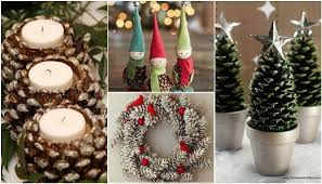 Christmas Crafts 13 Projects For Kids U0026 Adults  WebEcoistChristmas Crafts Made With Pine Cones