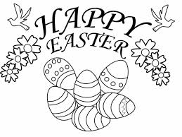 Small Picture Free Printable Happy Easter Coloring Pages For Kids toddlers