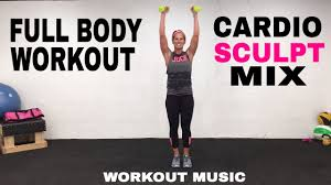 full body cardio sculpt and tone workout total body cardio strength workouts you