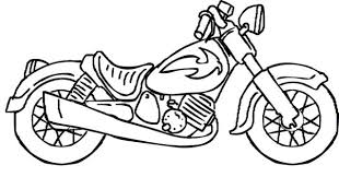 Small Picture Motorcycle coloring pages for kids ColoringStar