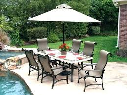 outdoor dining sets with umbrella. Outdoor Dining Furniture With Umbrella Stone Patio Table Sets Inspirational Top S .