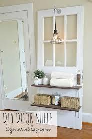 diy door shelf lizmarie