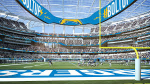 Los Angeles Chargers Seating Chart Photos Sofi Stadium