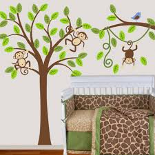 Monkey Bedroom Decorations Baby Nursery Monkey Bedroom Decor For Kids Bedroom Girls Monkey