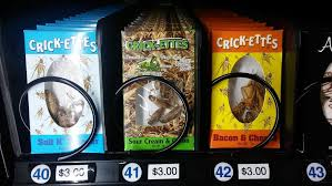 Houston Vending Machines Inspiration Entomological Eats Other Delights From The Museum Of Natural