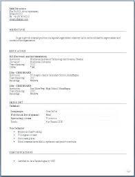 Resume Formats For Freshers Download Rawdaljinan Com