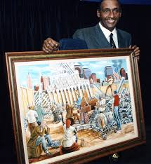 ernest ernie eugene barnes jr july 15 1938 april 27 2009 was an african american painter best known for his unique figurative style of painting