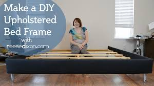 diy upholstered bed. How To Build A DIY Upholstered Bedframe Diy Bed B