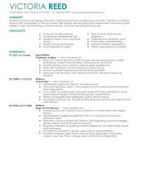 Standout Resume Templates – Foodcity.me
