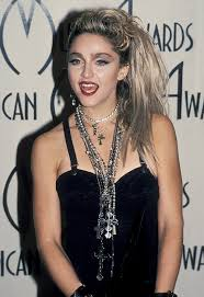 celebrity transformations madonna photo 1 attending the american awards in january 1985 madonna 80s makeup