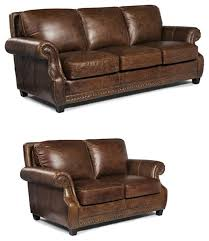 lazzaro leather prato 2 piece sofa set cocoa brompton transitional living room furniture sets by greatfurnituredeal