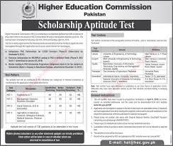 hec scholarship aptitude test for indigenous overseas hec scholarship aptitude test 2016 for indigenous overseas mphil ms phd scholarships
