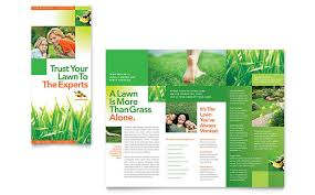 lawn care advertising templates gardening lawn care templates brochures flyers business cards