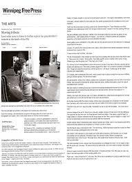 cv sarah anne johnson sarah anne johnson alison es a moving tribute winnipeg press 4 2010