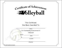 Sample Sports Certificates Ideal Co Award Certificate Template Free ...