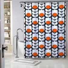 details about luxury beauty design orla kiely pattern best quality shower curtain 60 x 72