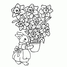 Niewu Kleurplaten Lente Bloemen Kleurplaat 2019