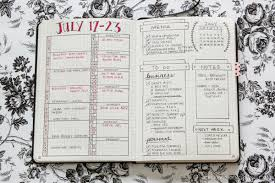 personal diet planner 7 meal plan bullet journal layouts to become a better meal planner