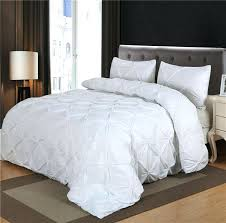 luxurious comforter set white black grey pinch pleat queen size blanket quilt with pillow case bedding