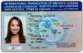International License Drivers International Drivers