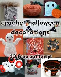 Halloween Crochet Patterns Mesmerizing Spooky And Crafty Crochet Halloween Decorations