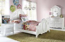 pulaski bedroom. pulaski princess youth 4 piece panel bedroom set, twin