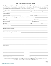 Accident Report Form Health And Safety Incident Report Form Template
