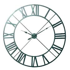 24 inch large outdoor wall clock with thermometer and hygrometer large outdoor clocks