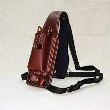 uhf holster leather description