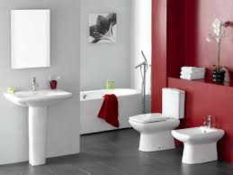 red bathroom color ideas. Red Bathroom Color Ideas White Bathrooms Designs Paint Black And Category With Post Alluring T