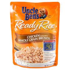 uncle ben s ready rice en flavored whole grain brown rice 8 8 oz