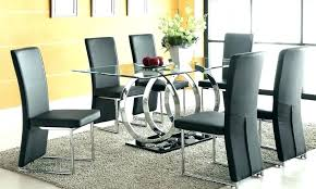 glass dining table sets 4 glass dining set oval dining set for 6 dining table sets