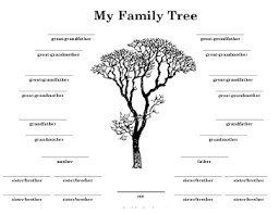 my family tree template tree with many siblings template