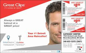 Great Clips Hairstyles For Men Haircut Coupons Great Clips Car Wash Voucher