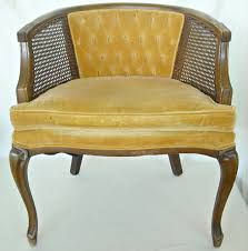 french cane chair. Mid Century French Cane Chair Barrel Back Hollywood .