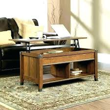 table lift top coffee tables with storage table caleb mahogany wood