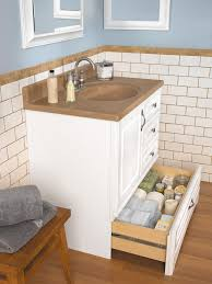 Danville White Bottom Drawer Vanity - Available Widths 30 inch, 36 ...