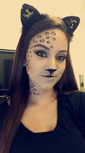 las 25 mejores ideas sobre leopard makeup en traje de leopardo p